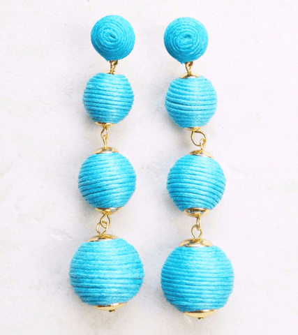 Dreaming Big Earrings (Blue)