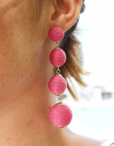 Dreaming Big Earrings (Pink)