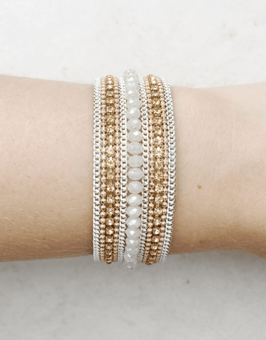 Casual Friday Bracelet-White