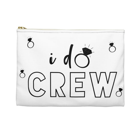 I Do Crew Bachelorette Party Favor Gift Accessory Pouch