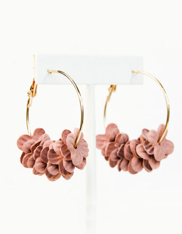 Garden Party Earrings (Rose)