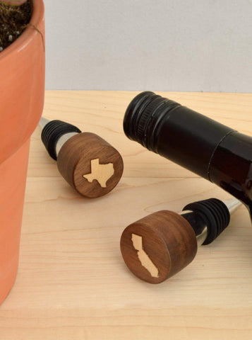 USA State Themed Wine Stopper