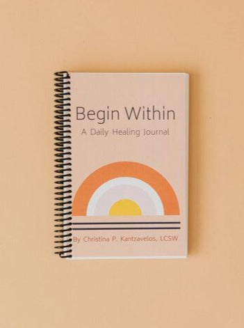 Begin Within Wellness Journal (Pink)