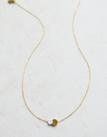 Joy Necklace White (14K Gold)