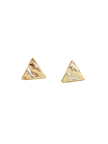 PRIDE LGBTQ+ Rainbow Triangle Stud Earrings Gift