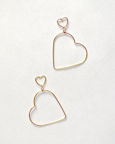 XOXO Earrings (Rose Gold)