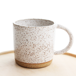 White Speckled Mug