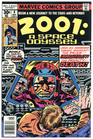 2001: A Space Odyssey #6 NM+