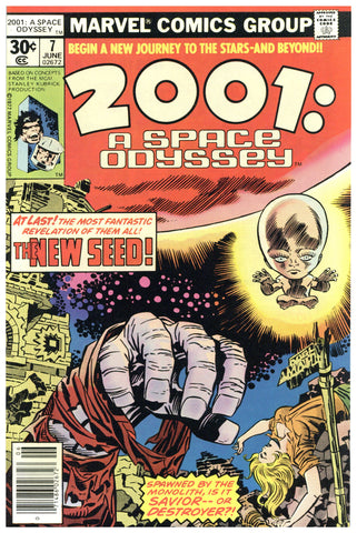 2001: A Space Odyssey #7 NM+