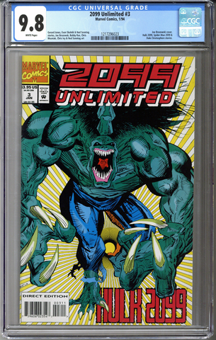 Colorado Comics - 2099 Unlimited #3  CGC 9.8