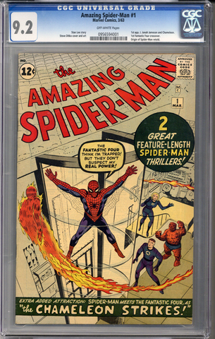 Amazing Spider-man #1 CGC 9.2