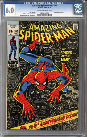 Colorado Comics - Amazing Spider-man #100  CGC 6.0