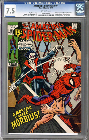 Colorado Comics - Amazing Spider-man #101  CGC 7.5