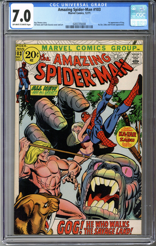 Colorado Comics - Amazing Spider-man #103  CGC 7.0