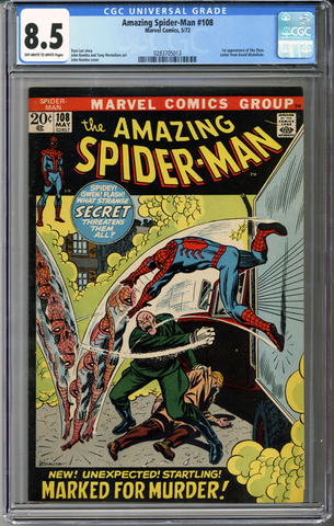 Colorado Comics - Amazing Spider-man #108  CGC 8.5