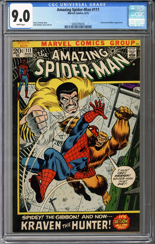 Colorado Comics - Amazing Spider-man #111 CGC 9.0