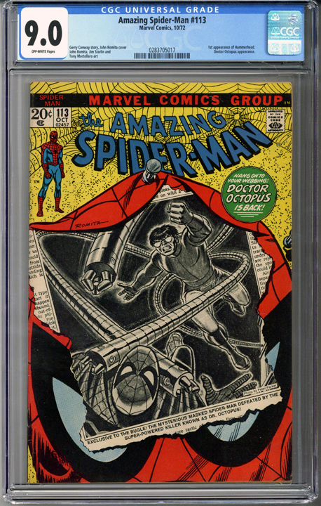 Colorado Comics - Amazing Spider-man #113  CGC 9.0