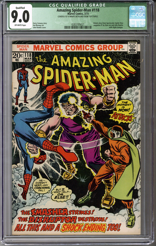 Colorado Comics - Amazing Spider-man #118  CGC 9.0 Qualified grade