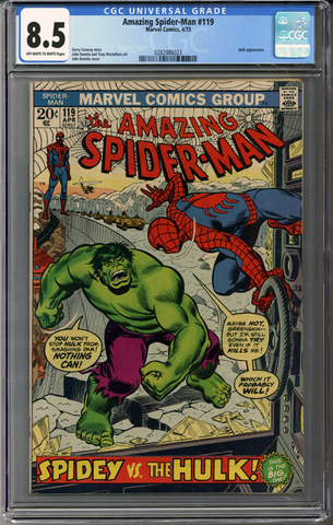 Colorado Comics - Amazing Spider-man #119  CGC 8.5