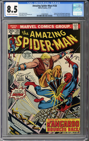 Colorado Comics - Amazing Spider-man #126 CGC 8.5