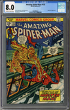 Colorado Comics - Amazing Spider-man #133  CGC 8.0