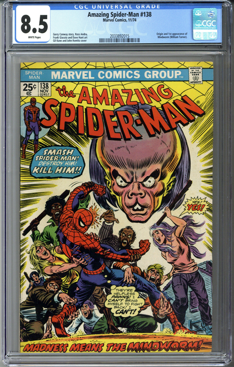 Amazing Spider-man #138 CGC 8.5
