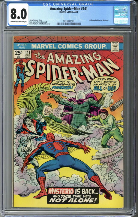 Amazing Spider-man #141 CGC 8.0