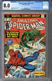 Colorado Comics - Amazing Spider-man #145  CGC 8.0