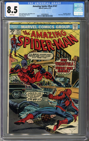 Colorado Comics - Amazing Spider-man #147  CGC 8.5