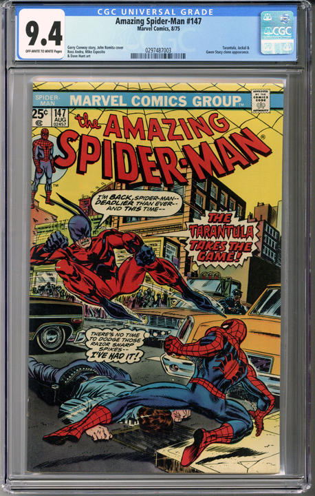 Colorado Comics - Amazing Spider-man #147  CGC 9.4