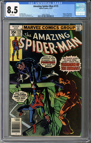 Colorado Comics - Amazing Spider-man #175  CGC 8.5