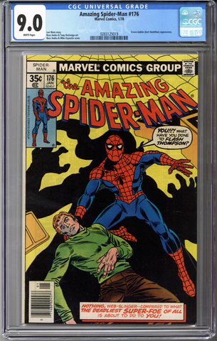 Colorado Comics - Amazing Spider-man #176  CGC 9.0