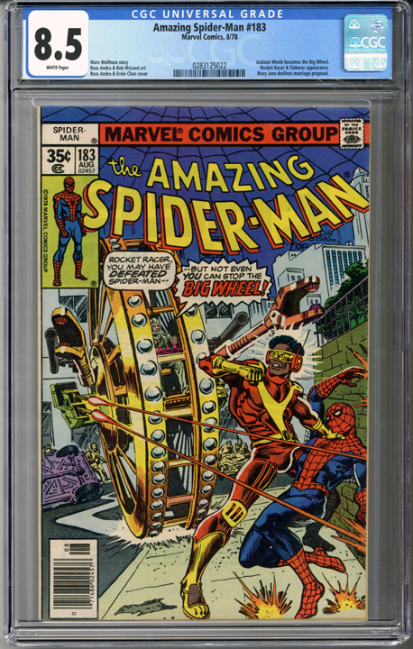 Colorado Comics - Amazing Spider-man #183  CGC 8.5