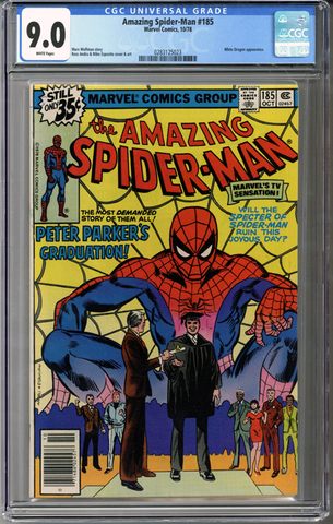 Colorado Comics - Amazing Spider-man #185  CGC 9.0