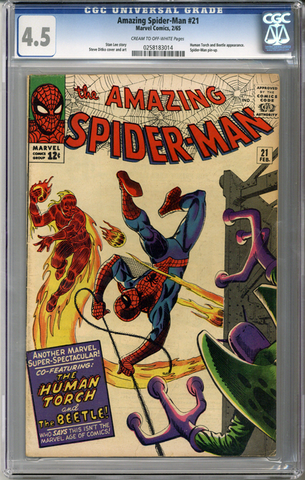 Colorado Comics - Amazing Spider-man #21  CGC 4.5