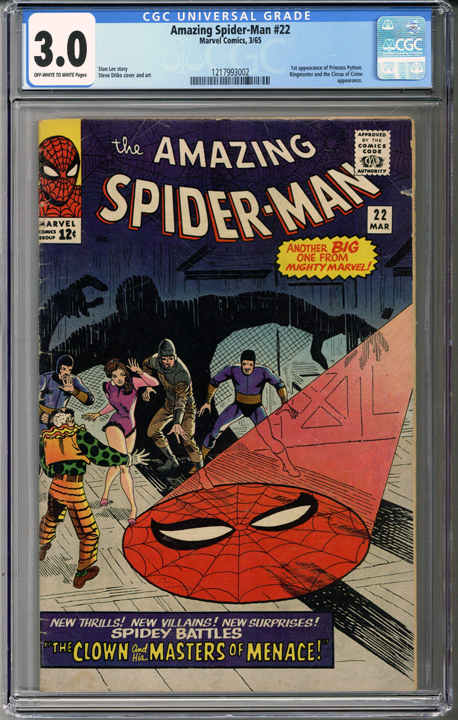 Colorado Comics - Amazing Spider-man #22  CGC 3.0