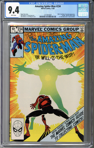 Colorado Comics - Amazing Spider-man #234  CGC 9.4