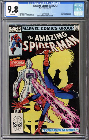 Colorado Comics - Amazing Spider-man #242  CGC 9.8