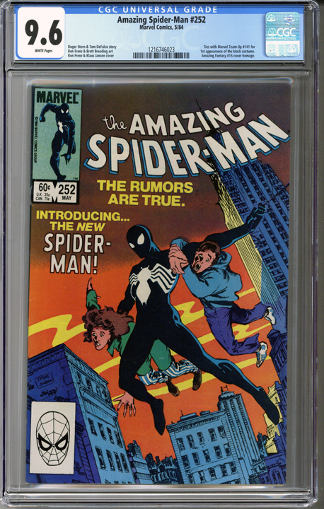 Colorado Comics - Amazing Spider-man #252 CGC 9.6