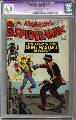 Colorado Comics - Amazing Spider-man #26  CGC 6.0  C-1  slight restoration