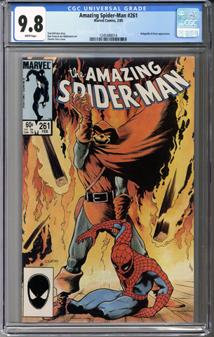 Colorado Comics - Amazing Spider-man #261 CGC 9.8