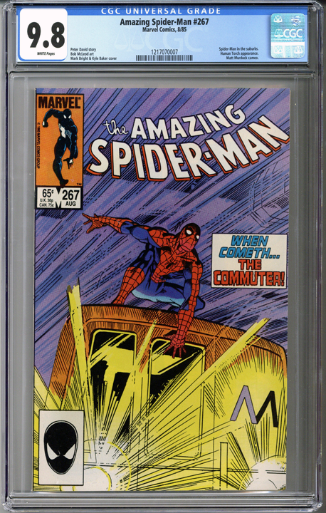 Colorado Comics - Amazing Spider-man #267  CGC 9.8