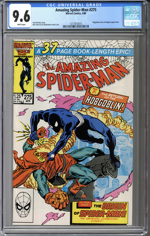 Colorado Comics - Amazing Spider-man #275  CGC 9.6
