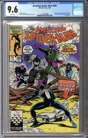 Colorado Comics - Amazing Spider-man #280  CGC 9.6