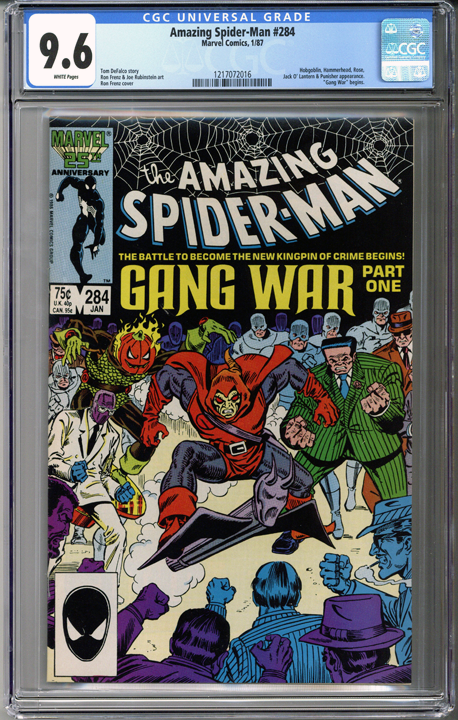 Colorado Comics - Amazing Spider-man #284  CGC 9.6