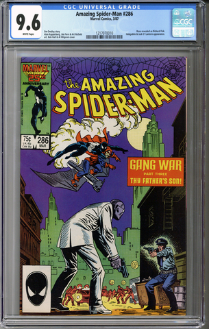 Colorado Comics - Amazing Spider-man #286  CGC 9.6