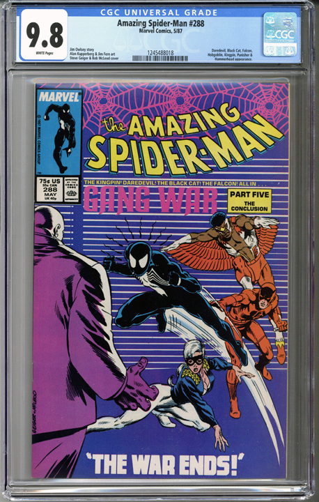 Colorado Comics - Amazing Spider-man #288 CGC 9.8