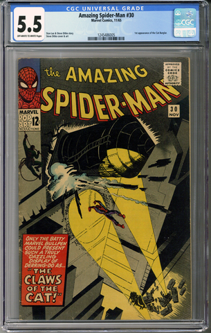 Colorado Comics - Amazing Spider-man #30 CGC 5.5