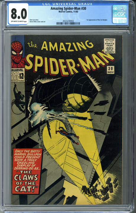 Amazing Spider-man #30 CGC 8.0
