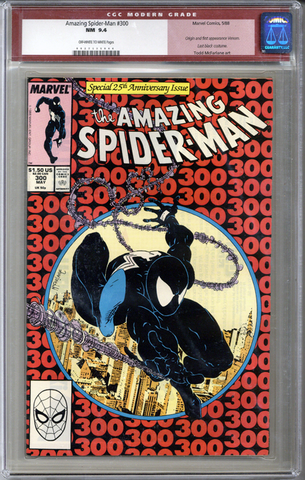 Colorado Comics - Amazing Spider-man #300  CGC 9.4